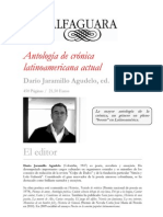 Dossier Prensa Antologi Cronica a Actual