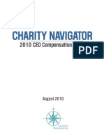 2010 Charity CEO Compensation Study