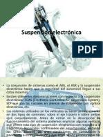 Suspensión electrónica