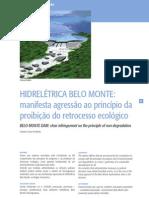 Artigo Usina Belo Monte