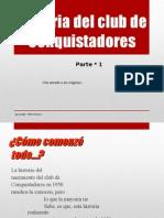1_Historia Del Club de Conquistadores