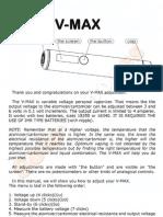 Smoktech Vmax User Manual