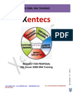 Xentecs DBA Training