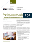 225 CASO CLINICO Tratamiento Conservador Ferula Oclusal