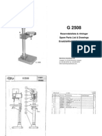 Arboga G2508 Parts Manual