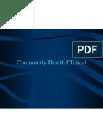 Sti Community Clinical