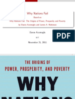 Why Nations Fail Short Presentation