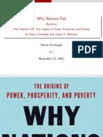 Why Nations Fail Short Presentation