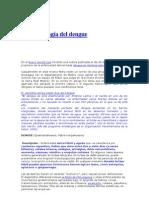Epidemiología del dengue