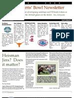 2008-2009 Bowl Newsletter