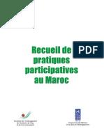 Recueil de Pratiques Participatives Au Maroc