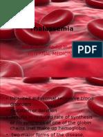 Thalassemia & Bleeding Disorders