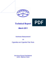 PTM-TechRep-Hardness Measurement Cig CigFilters