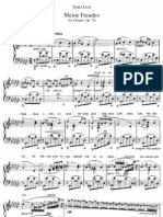 Meine Freuden Liszt by Chopin Op74