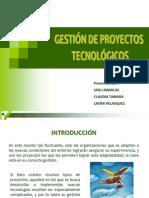 B. Gestión de proyectos tecnológicos-