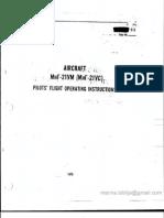MiG-21 US/UM Flight Manual_Weight & Balance Manual