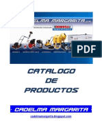 Catalogo Productos Cadelma Margarita