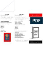 lifelong literacy brochure