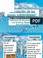 Circulación de las aguas subterráneas