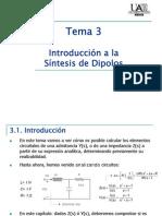 sintesis de dipolos