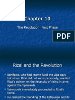 Chapter 10 - The Revolution First Phase