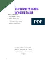 Monografia de Aborto Espontaneo1