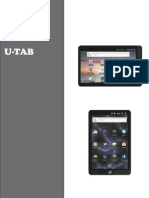 Manual U-tech Tablet.
