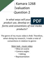 Vera K - Q2 Evaluation - A2 Media