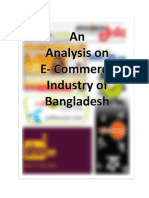 An Analysis on E- Commerce Industry of Bangladesh