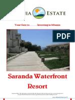 Albania Property for Sale - Saranda Waterfront Residence
