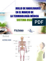 Sistema Oseo Terminología Médica