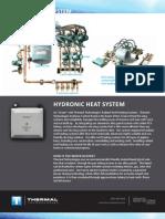 Hydronic Heat System Datasheet