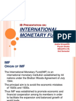 IB ppt on IMF