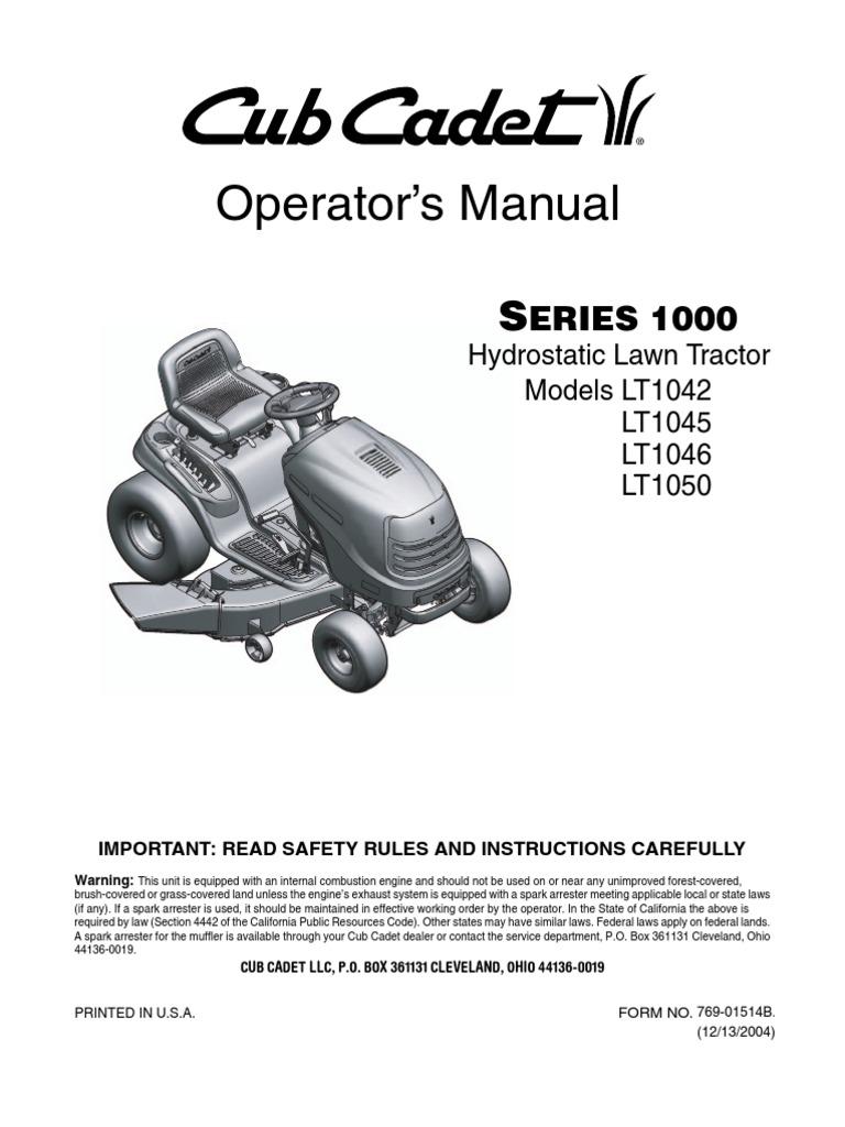 Cub Cadet Manuals Lt1045 Ebook Wiring Diagram For 1100 Array Lt1046 Owners Manual Complete Diagrams U2022 Rh 207 246