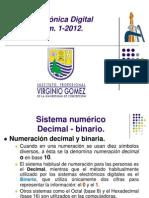 Electrónica Digital Unidad 1 -2012