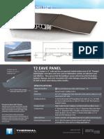 T2 Eave Panel Datasheet
