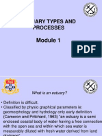 GEOS3009 - Mod 1 - Estuaries