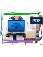 Scope of Nursing Informatics