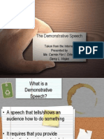 The Dos and Donts of Demonstrative Speeches 1226547832612728 9