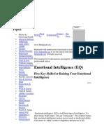 Emotional Intelligence (EQ) Five Key Skills for Raising Your EQ.htm