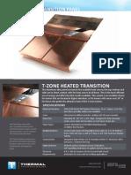 T Zone Heated Transition Datasheet