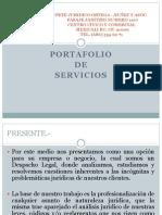 portafolio de servicios