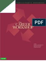 Career Workshop Workbook English