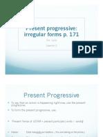 3B Present Progressive