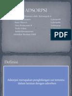 Adsorpsi Presentation