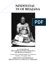Confidential Secrets of Bhajana