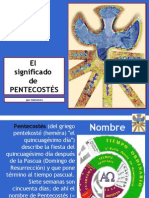 Significado de Pentecostés
