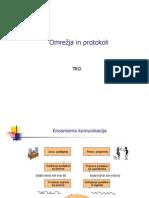 Omrežja in protokoli