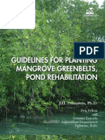 Guidelines for Planting Mangrove Greenbelts, Pond Rehabilitation by J.H. Primavera, Ph.D.