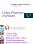 Dr.khan Clinical Pharmacy Orientation